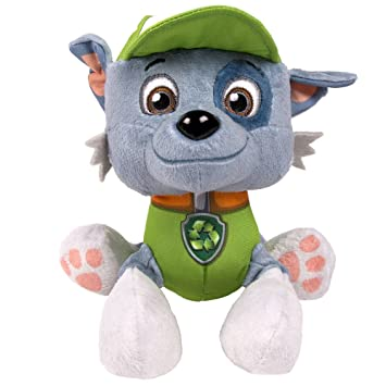 be820b20869 PAW PATROL 6022630ROCKY Pup Pals Rocky Soft Toy  Amazon.co.uk  Toys   Games