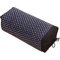 アイリスプラザ 男の枕 活性炭パイプ入り枕/そばがら枕 高さ調節可能