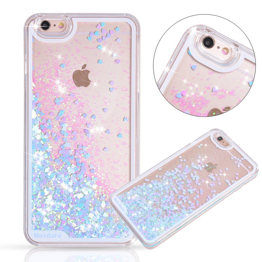 iPhone 6/6s Case, Maxdara iPhone 6/6s Hard Case Flowing ...