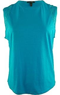 d550ff09 Lauren by Ralph Lauren Women's LRL Graphic T-Shirt White Small at ...