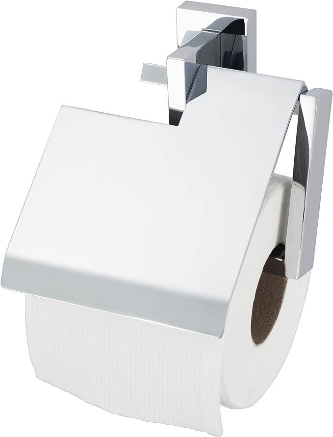 HACEKA Edge Papierrollenhalter mit Blende verchromt