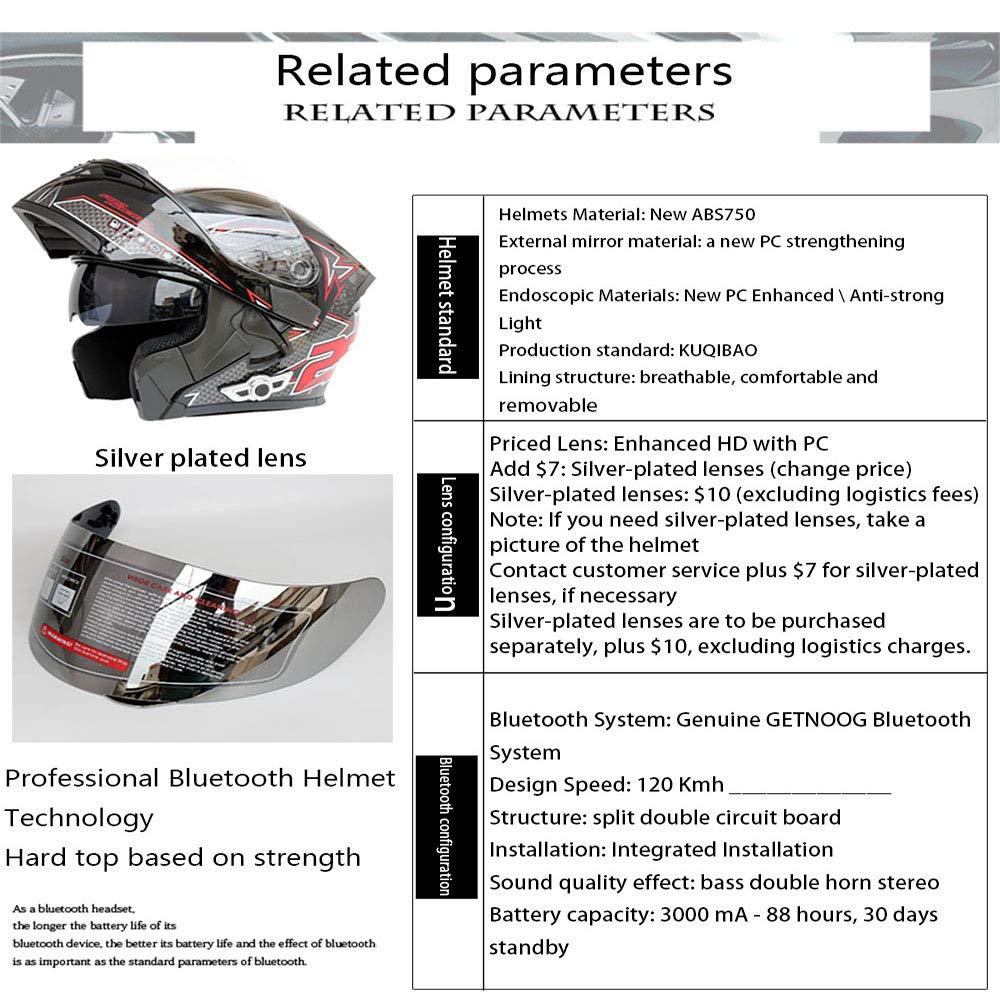 Yu&cw Cascos de Motocicleta modulares Certificación ...