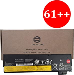 JIAZIJIA SB10K97584 Laptop Battery Replacement for Lenovo ThinkPad T470 T480 P51S P52S T570 T580 A475 A485 TP25 Series 61++ 01AV427 4X50M08812 01AV428 01AV492 SB10K97585 10.8V 72Wh 6600mAh 6-Cell