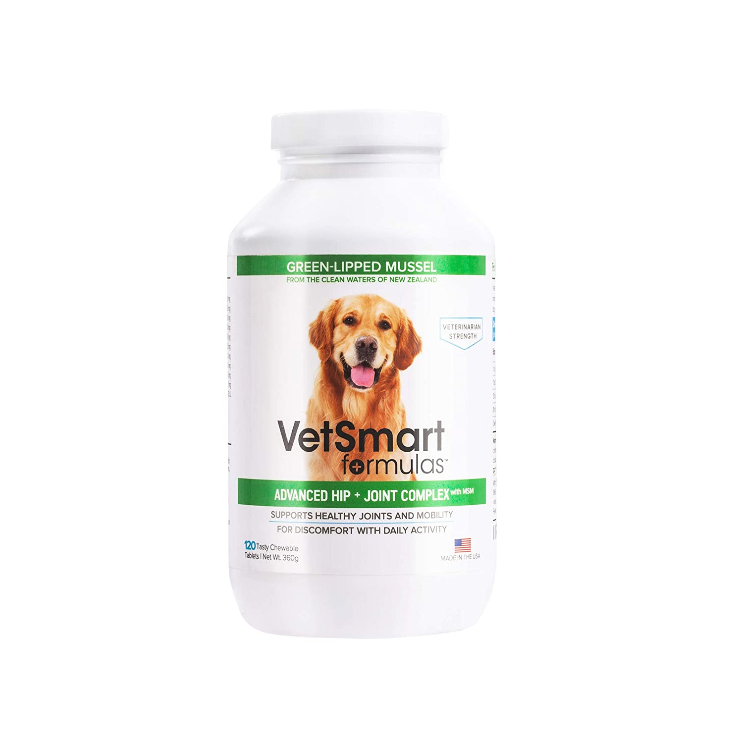 Amazon Vetsmart Advanced Hip And Joint Complex With Msm
