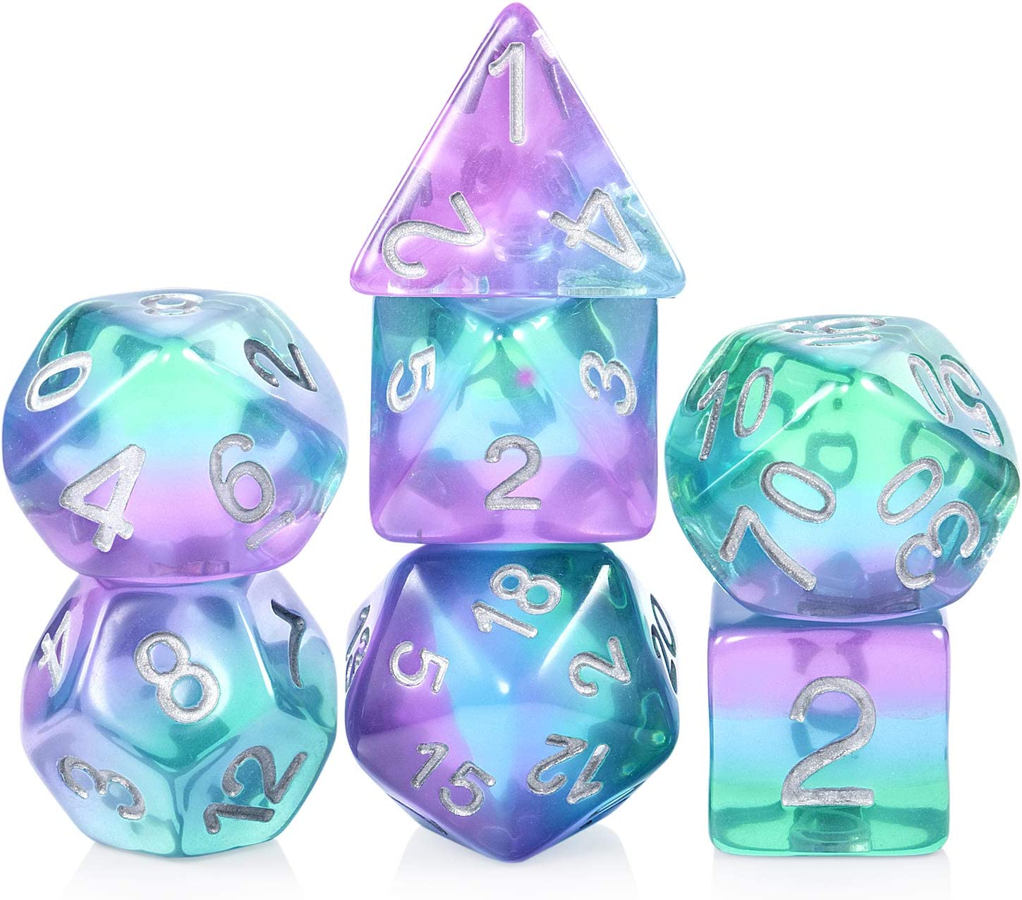 Opaque Poly D16 Dice 1 2 3 4 5 Set Yellow 16 Sided Die Dungeons Dragons RPG D/&D