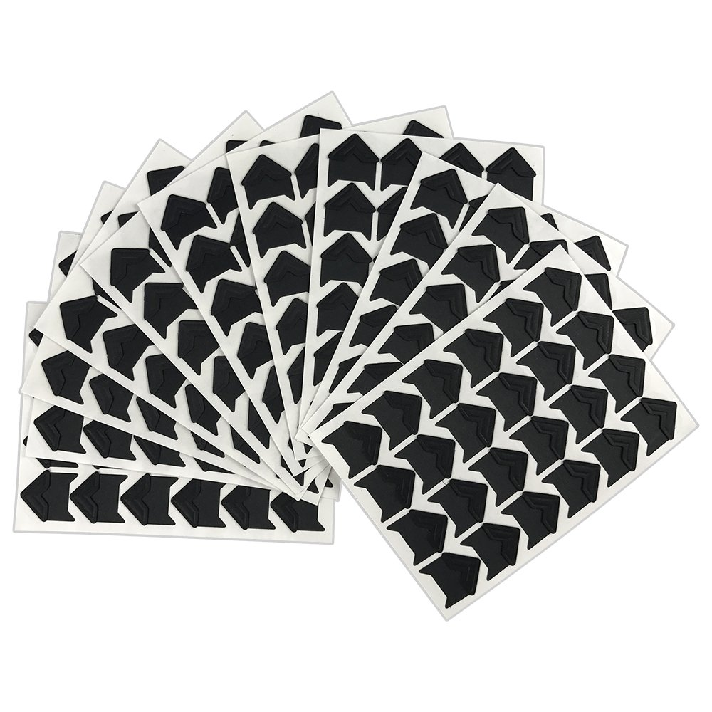 264 PCS Vintage Black Self-Adhesive Acid Free Paper Photo Mounting Stickers Corners for Scrapbooking Album Dairy PiPiHa