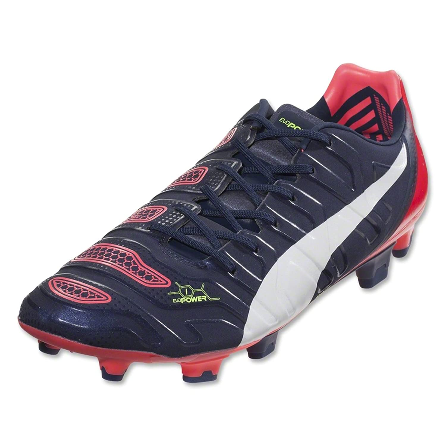 b7b8520b2c1 PUMA Evopower 1.2 FG (White Black Hawaiian Ocean)