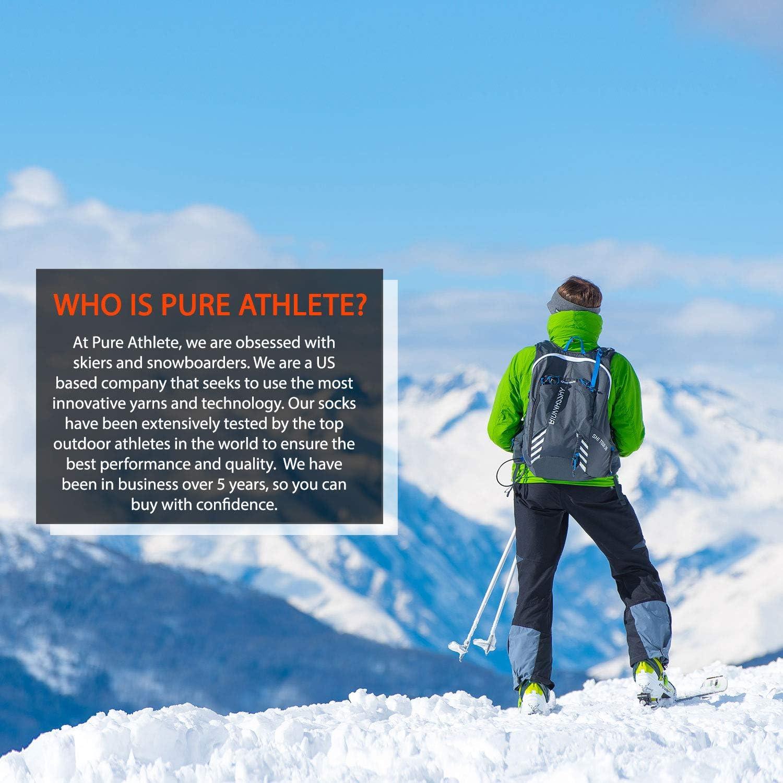 Warmest Snowboard Cold Weather Pack Ski Socks Women Wool Warm Skiing Sock Men