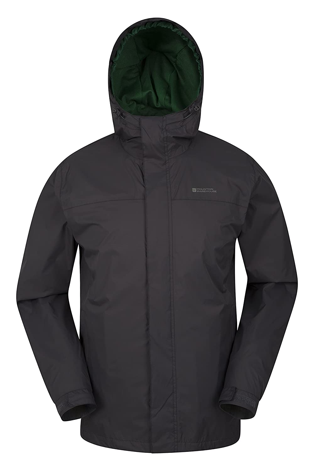 Mountain Warehouse Torrent Mens Rain Jacket - Waterproof with Hood