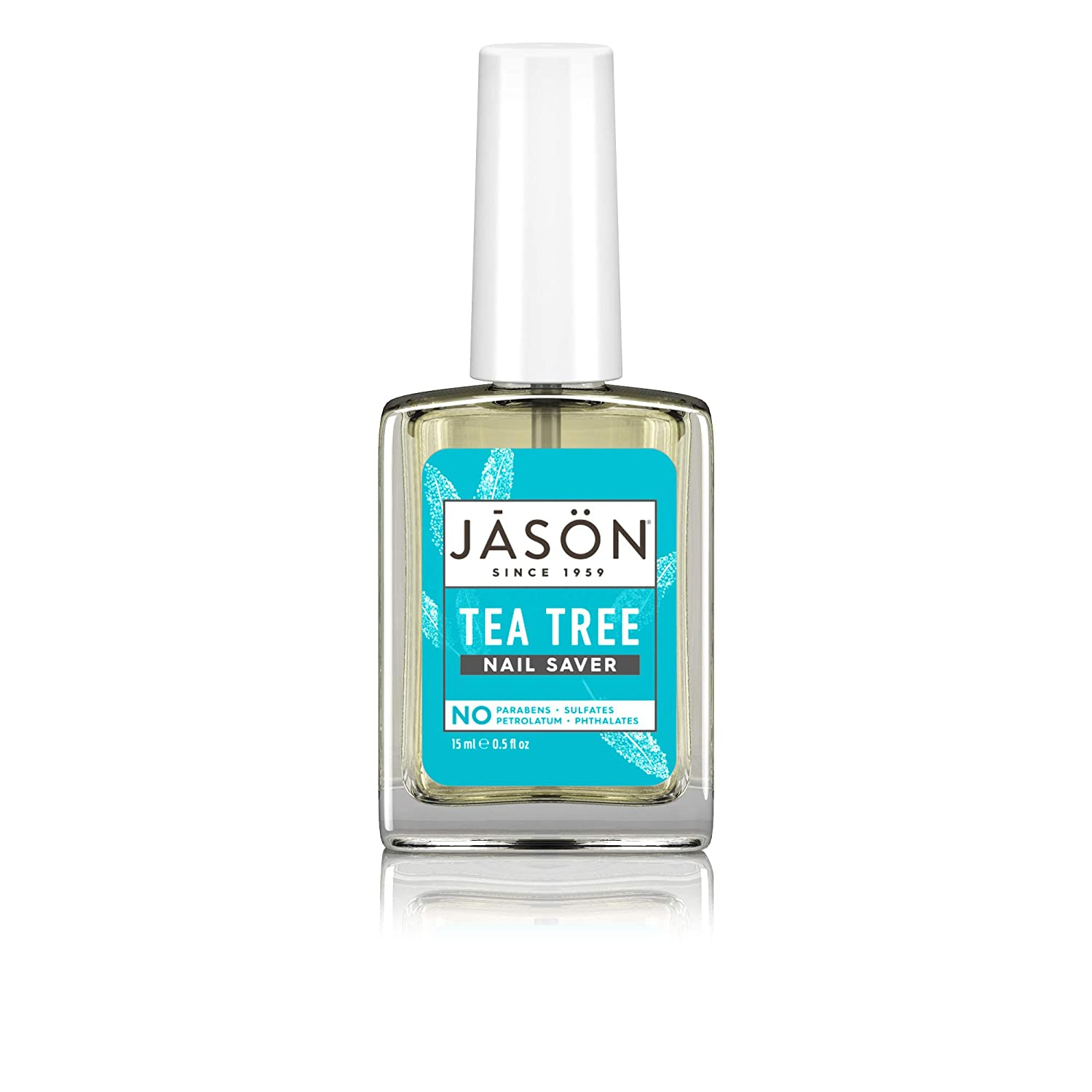 JASON Purifying Tea Tree Nail Saver, 0.5 Ounce Bottle (Pack of 4)