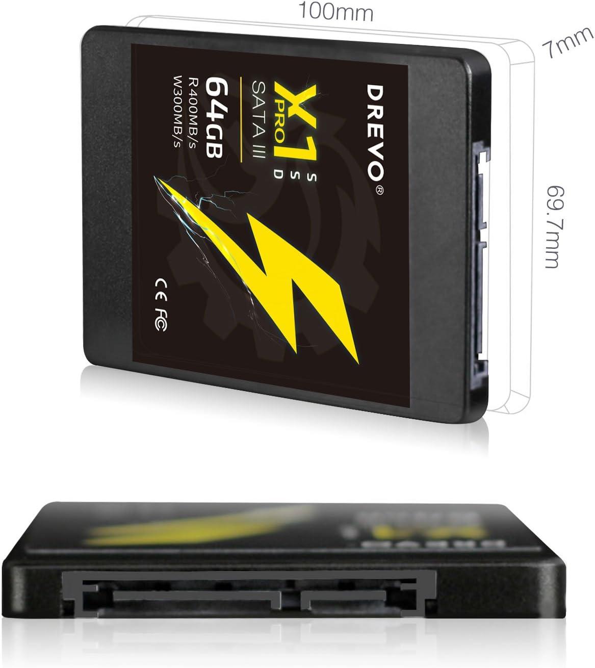 Disco Duro de Estado sólido Drevo X1 Pro de 64 GB, SSD Interno de ...