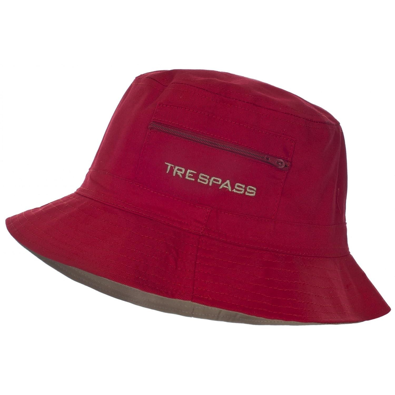 98527b69d6d Trespass Mens Kershaw Summer Bucket Hat (One Size) (Berry)  Amazon.co.uk   Clothing