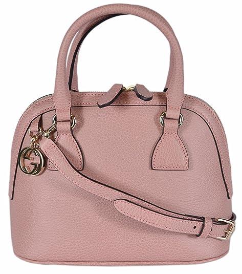 8549f3bd Amazon.com: Gucci Women's Leather 2-Way Convertible GG Charm Small ...