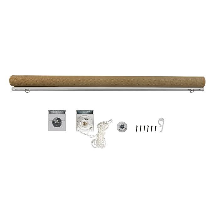 Jarolift Estor Exterior/Persiana Exterior/Toldo Vertical, 100 x 140 cm(Ancho x Altura) Beige: Amazon.es: Hogar
