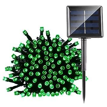 Solar Weihnachtsbeleuchtung Figuren.Ledertek Solar Lichterkette 22m 200 Led 8 Modi Außenlichterkette Wasserdicht Mit Lichtsensor Weihnachtsbeleuchtung Beleuchtung Für Haushalt