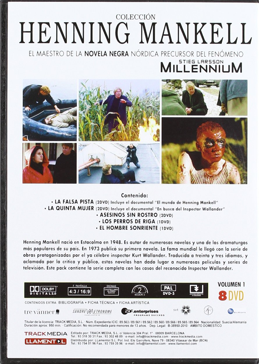 Amazon.com: Henning mankell [DVD]: Cine y TV