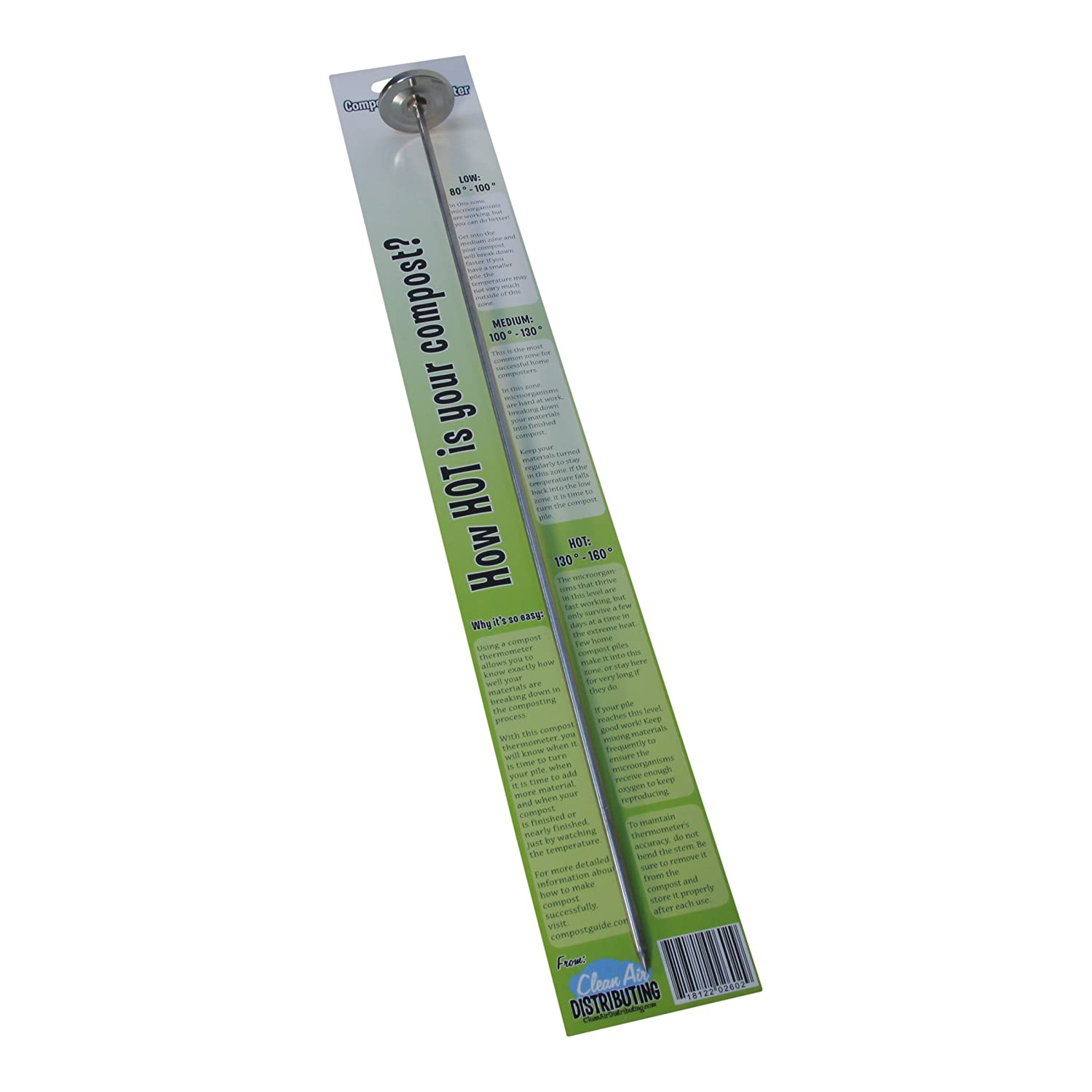 Amazon.com: Premium Compost or Soil Thermometer with 20