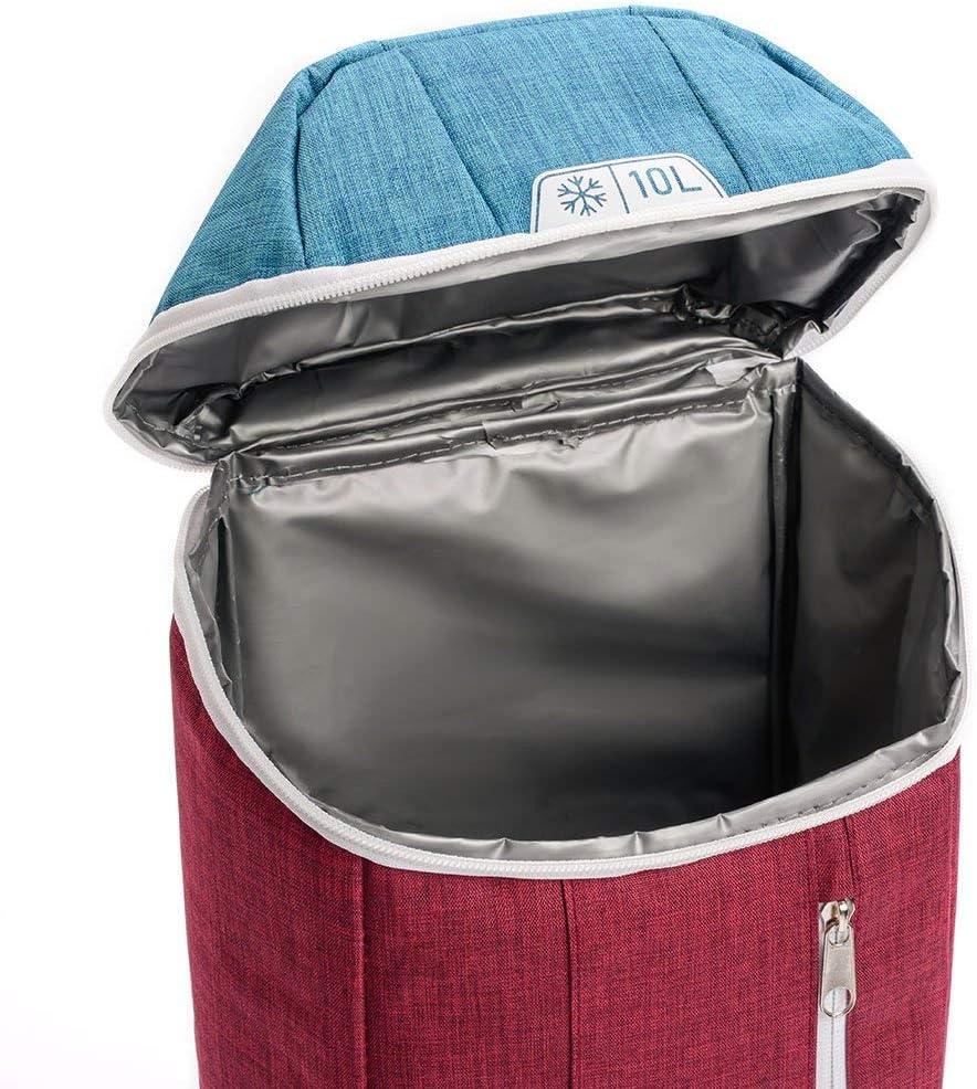 Portatil Bolsa Aislamiento de Enfriamiento 10 L o 20 L meteor Mochila T/érmica Porta Alimentos para Picnic Playa Camping Senderismo Excursi/ón Viajes