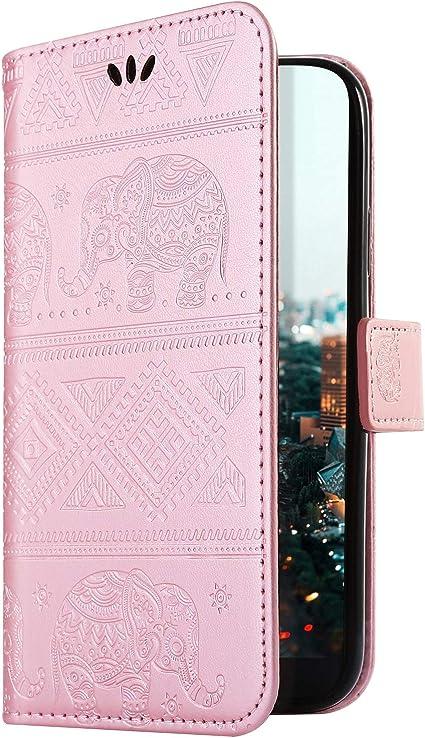 Uposao Compatible con: oro rosa oro rosa Xiaomi Redmi Note 8T ...