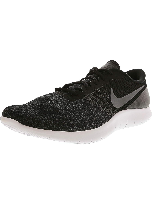 e84700aa42bb Amazon.com  Nike Men s Flex Contact Black Dark Grey - Anthracite Ankle-High  Running Shoe 14M  Nike  Sports   Outdoors