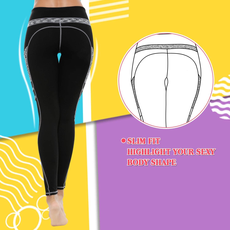 Gym Leggings,Women Sport Leggings with Pockets,gym leggings women high waist,Workout Running Tights Training Pants,Yoga Leggings,Tummy Control