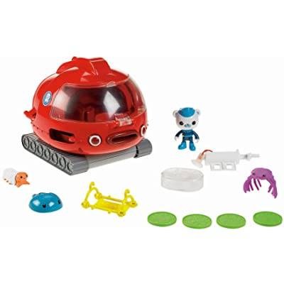Fisher-Price Octonauts Launch and Rescue Gup X Vehicle, Standard Packaging: Toys & Games