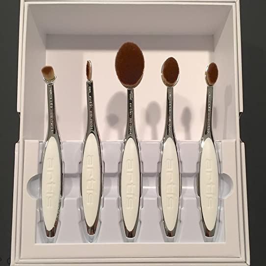artis brushes gold. artis elite mirror brush set - 5 ct by brushes gold