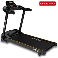 MAXPRO IM5001 1.5Hp (3 Hp Peak) Folding Treadmill, Electric Motorized Exercise Machine for Running & Walking [Easy Assembly]