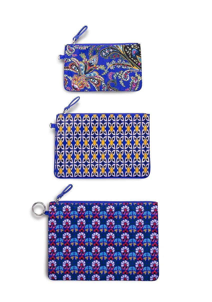 Amazon.com: Vera Bradley - Juego de 3 bolsas de aseo para ...