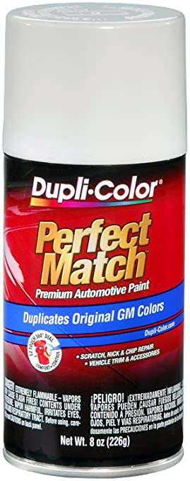 Amazon.com: Dupli-Color EBGM04347 Olympic White General Motors ...