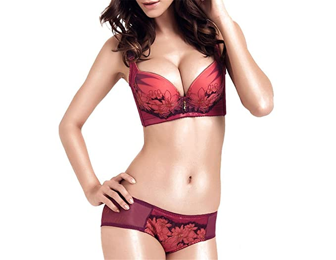 e06ccb9a9b Raycoon Comfortable Adjustable Push Up Sexy Comfortable Underwire Widening  Straps Bra (32A