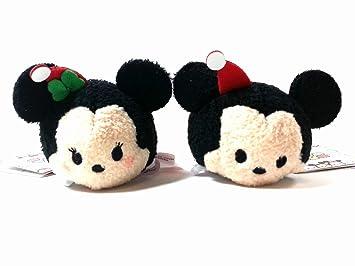 Disney Tsum Tsum Holiday Mickey & Minnie ...