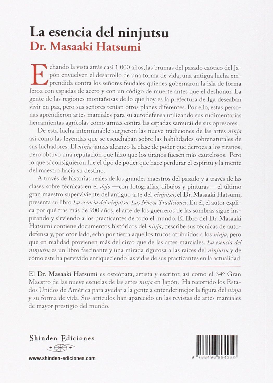 Esencia Del Ninjutsu, La - Las Nueve Tradiciones: Amazon.es ...
