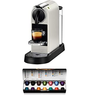 Nespresso EN170.S Cafetera, 1150-1260 W, eyección automática de cápsulas, 19 Bares de presión, 1260 W, 0.8 litros, Plata: Amazon.es: Hogar