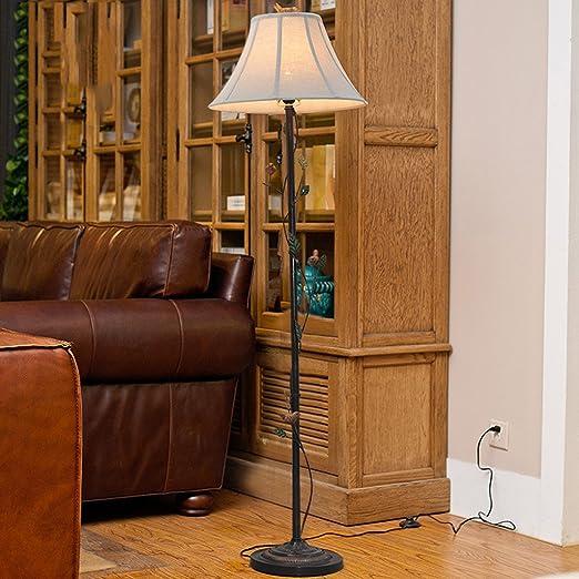 Lámparas de pie Retro para Hacer el Viejo Hierro Decorativo ...