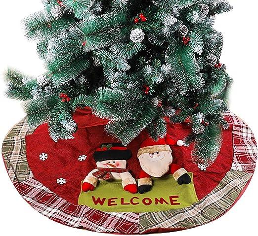 Faldas De Árbol De Navidad Base De Falda De Árbol De Navidad De ...