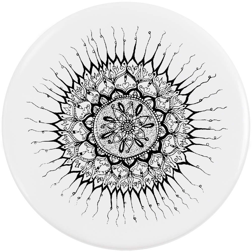 Azeeda 58mm 'Mandala Décoratif' Bouton de Badge (BB00018134)