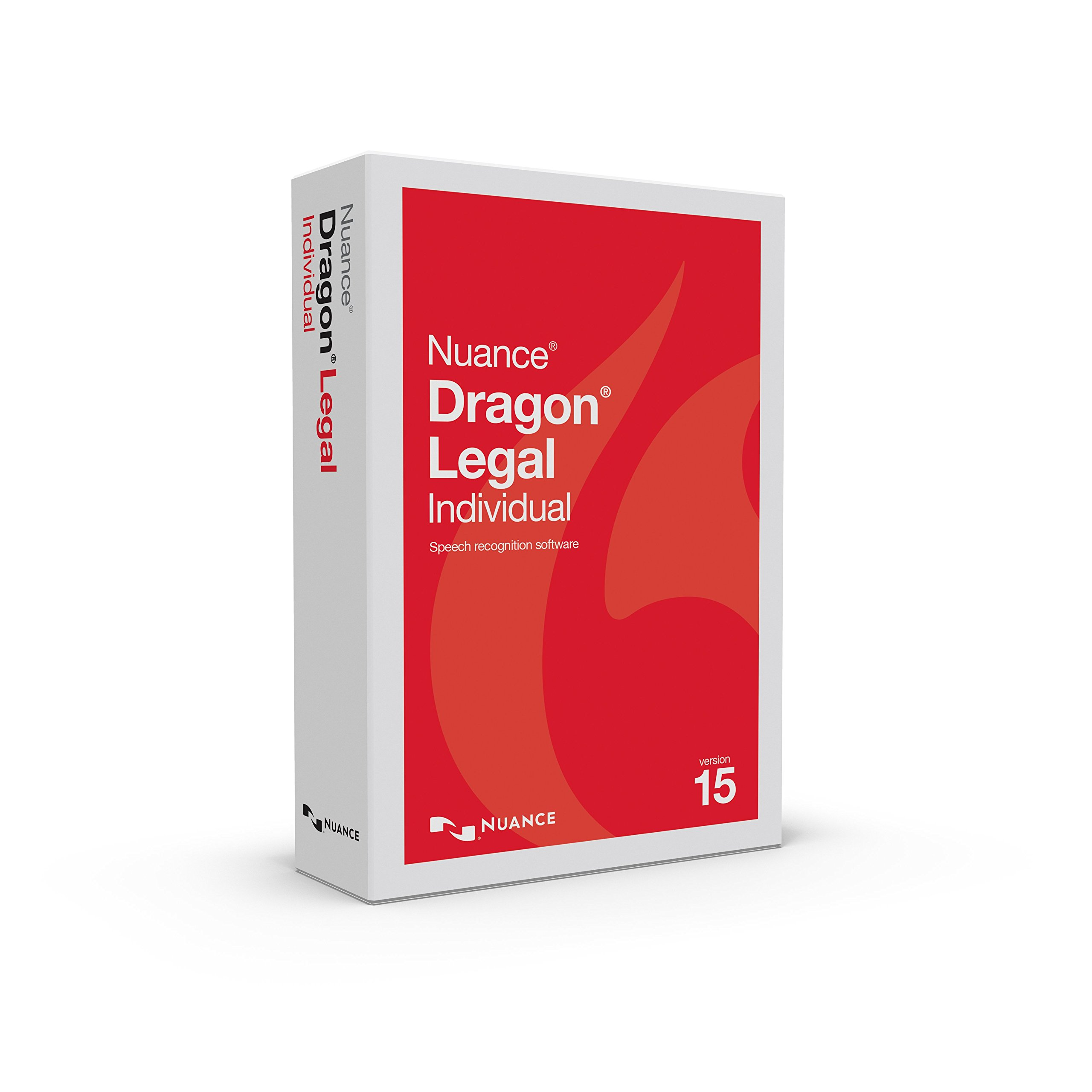 Dragon Legal Individual 15, Upgrade from Legal 12 or 13 by Nuance Dragon