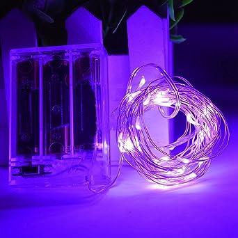 glanzzeit LED String luces (50 ledes, 5 m/16 ft cumpleaños ...