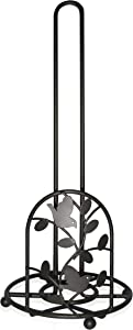 Home Basics PH10975 Birdsong Collection Paper Towel Holder, Brown