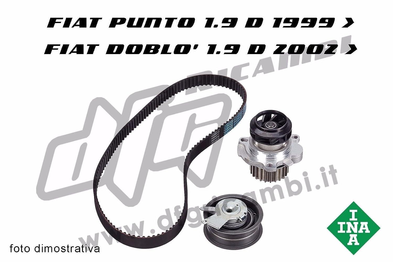 Kit distribuzione INA 530011810 FIAT