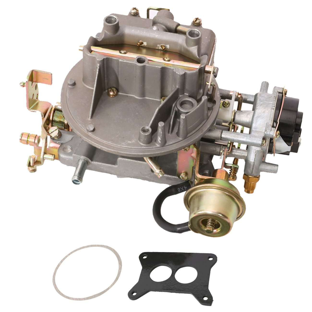 Partol 2 Barrel Carburetor For Ford Mustang F150 F250 1980 Bronco F350 Comet Engine 289 Cu 302 351 Jeep Wagoneer 360 Automatic Choke