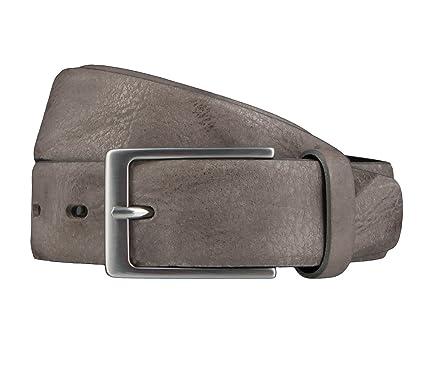 Bovino Belt Mensbelt Leatherbelt Leather Taupe, Länge:85 Cm;Farbe