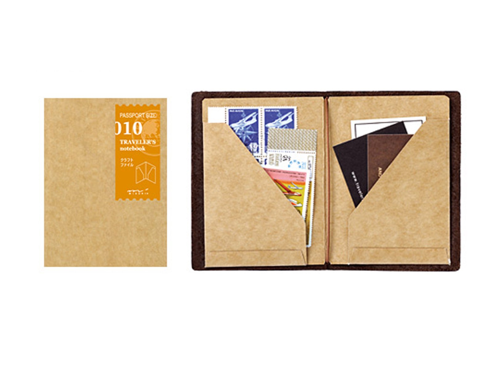 Midori Traveler's Notebook Passport Size Refill (010) Craft File