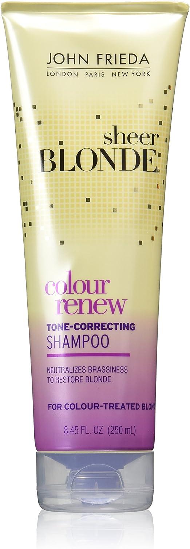 John Frieda Sheer Blonde Color Renew Tone Restoring Shampoo 8 45 Oz Health Personal Care