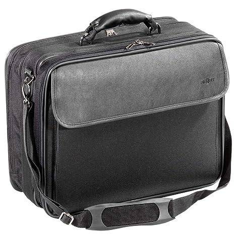 Bolsa Funda maletin para ordenador portátil negro de Poliéster 17 pulgada