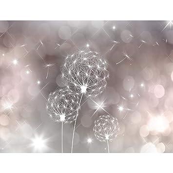 Fototapete Pusteblumen 396 x 280 cm Vlies Wand Tapete Wohnzimmer ...