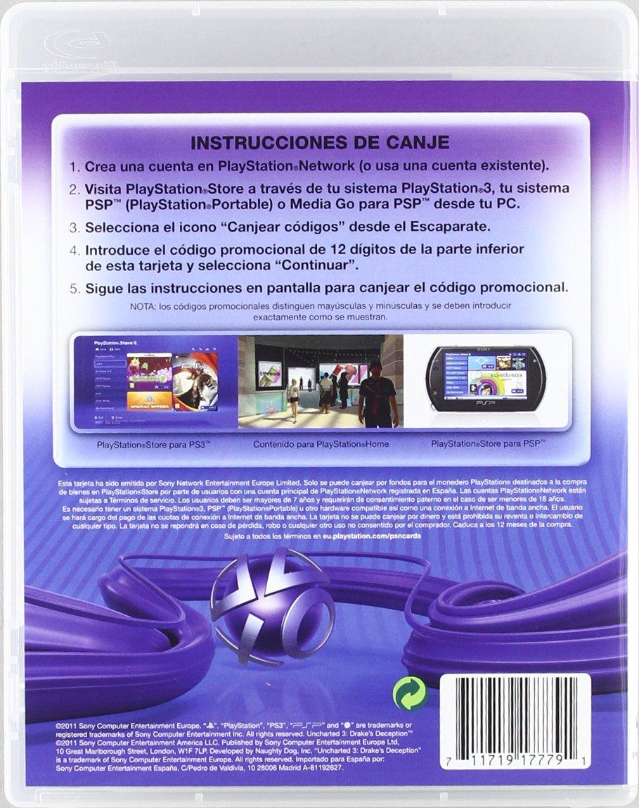 Playstation - Tarjeta Prepago De 20 Euros: Amazon.es ...