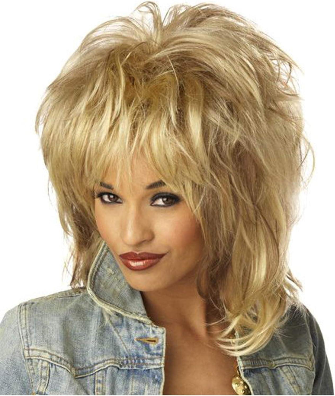 California Costumes Women's Rockin' Soul Blonde Wig