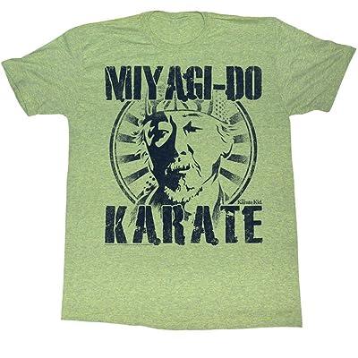 Karate Kid - Mens Miyagi Do T-Shirt in Kiwi Triblend, Size: XX-Large, Color: Kiwi Triblend: Clothing